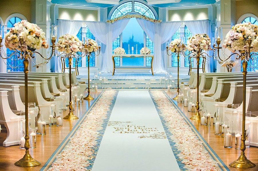Disney world guerilla wedding