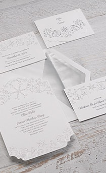 Elsa Winter's Beauty Invitations