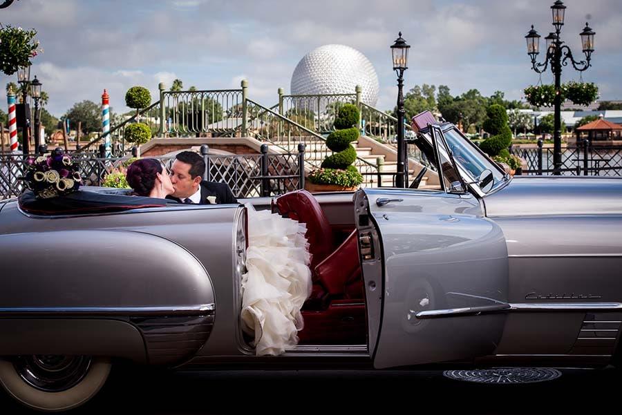 Walt Disney World Vow Renewal Spotlight Candice And