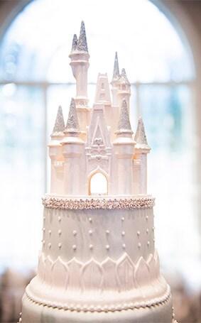 Wedding Cake Wednesday A Cinderella Moment Disney Weddings