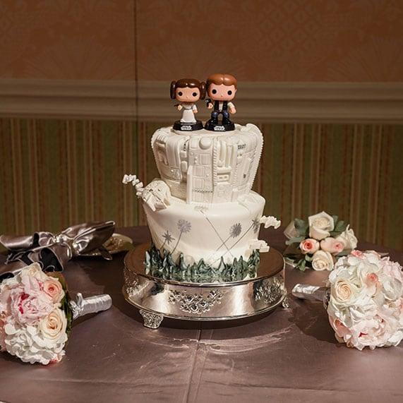 Disney Wedding Cakes Gallery   Disney\'s Fairy Tale Weddings