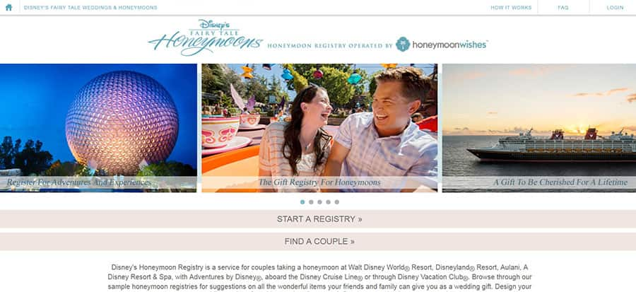 Now The Disney Honeymoon Registry Offers The Only Gift That Will Allow You To Enjoy Magical Vacations For Years To Come A Disney Vacation Club Membership