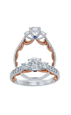 disney engagement rings and wedding bands announcing enchanted disney jewelry engagement rings 3562