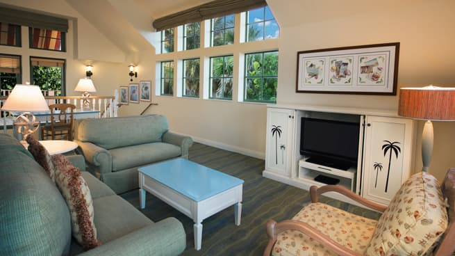 Rooms & Points | Disney\'s Vero Beach Resort | Disney Vacation Club