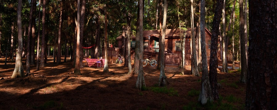 The cabins at disney 39 s fort wilderness resort disney for Fort wilderness cabins reservations