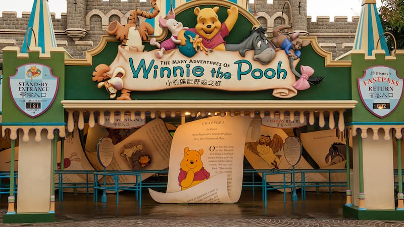 Image result for many adventures of winnie the pooh